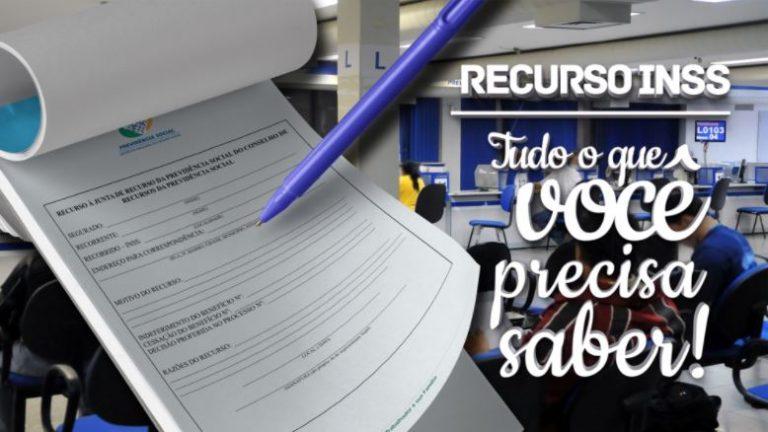 Recurso INSS 2022